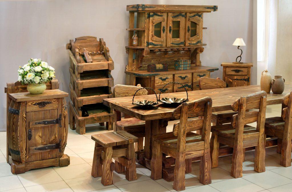 38Мебель из дерева в домашних условиях с фото