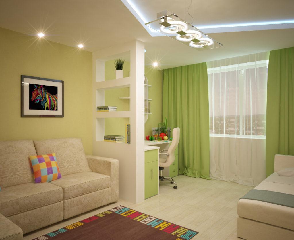 Как сделать из одной комнаты две: простые способы. - InMyRoom 91