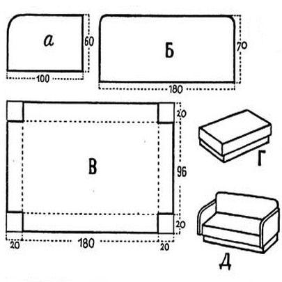 Макеты мебели своими руками 41