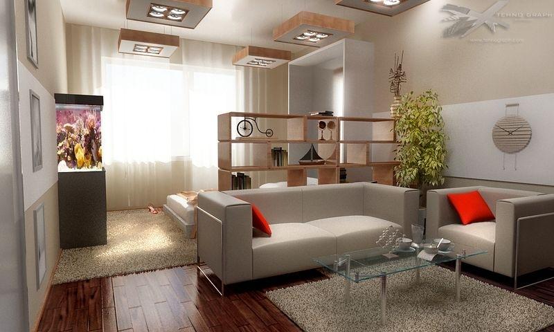 Однокомнатная квартира интерьер своими руками