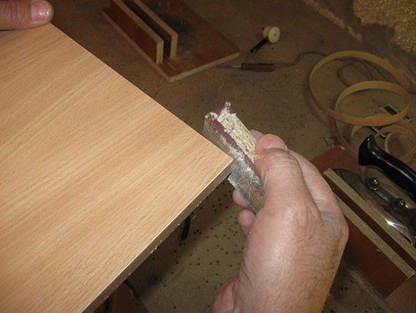 Как клеить кромку для дсп своими руками 71