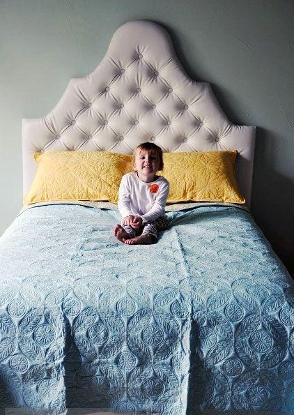 Кровати с мягкими изголовьями своими руками 86