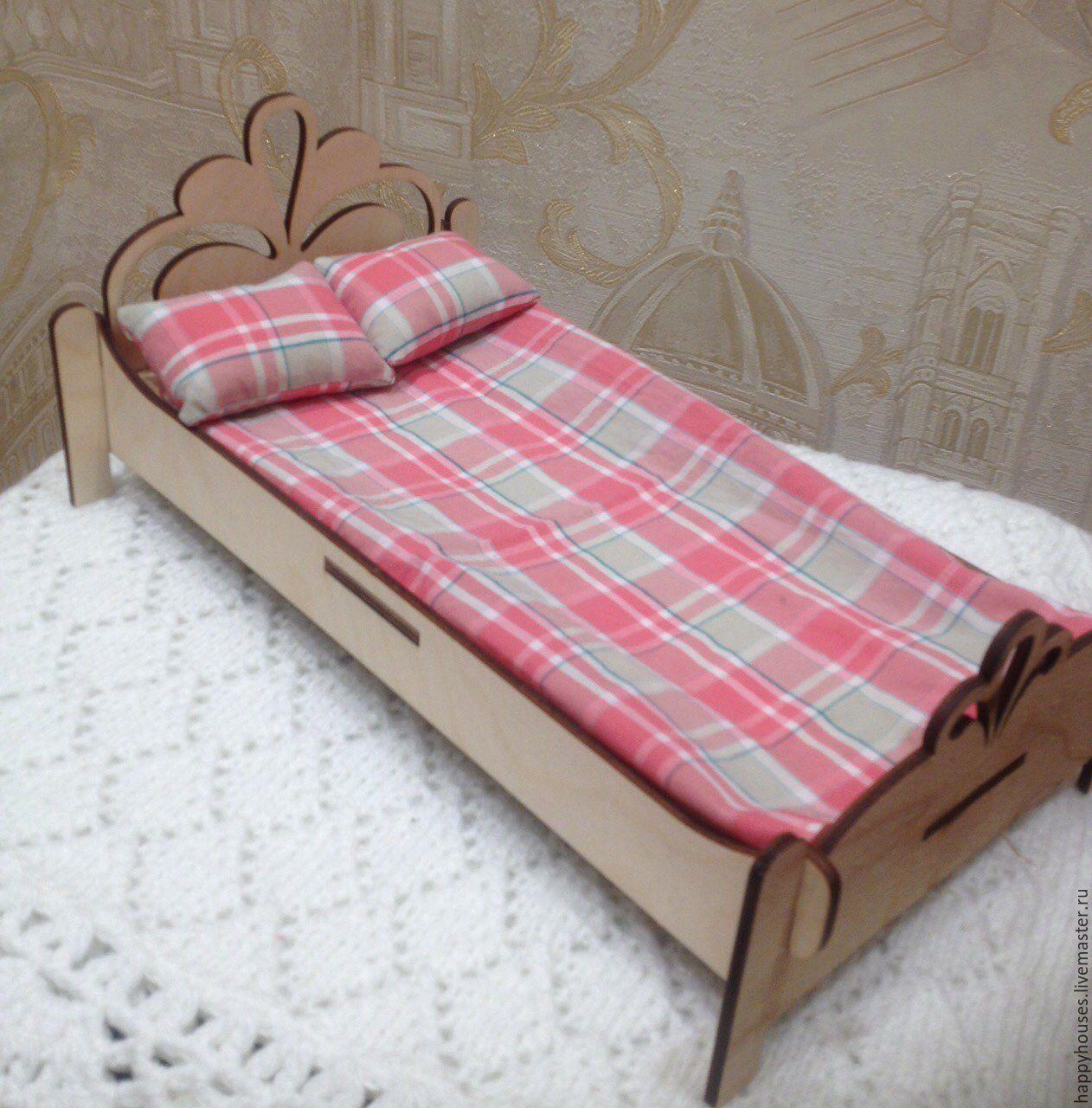 Кровать для куклы. Как сделать кровать для куклы своими руками? 5